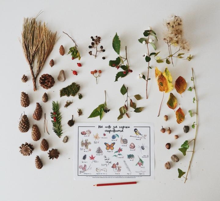 На лов за горски съкровища – freeprintable