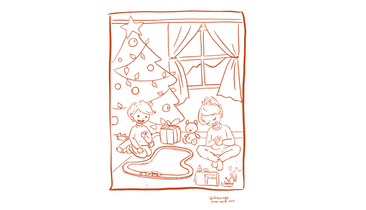 Оцвети Коледа (free printable)🎄🎁