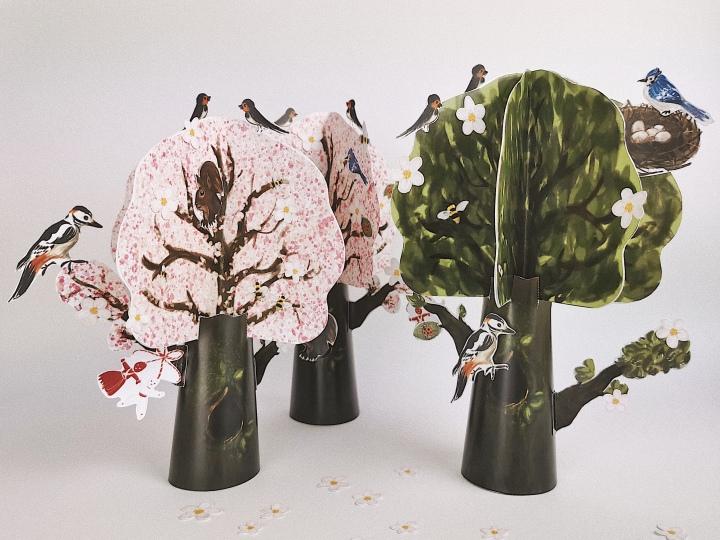 Пролетно дърво – freeprintable