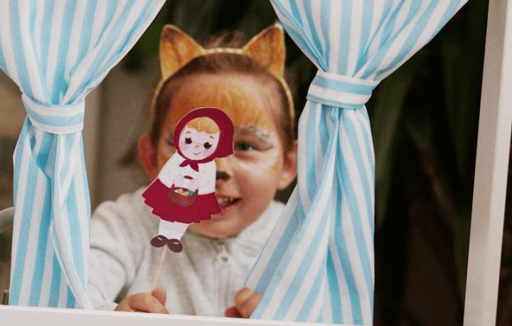 Хартиени кукли – Червенаташапчица
